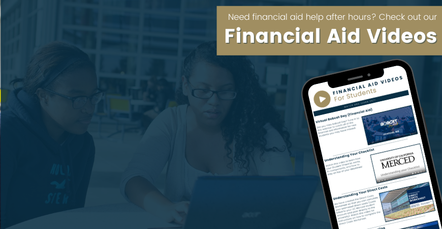 Financial Aid Videos for students